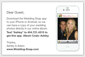 Wedding Snap Wedding Apps iPhone Photo