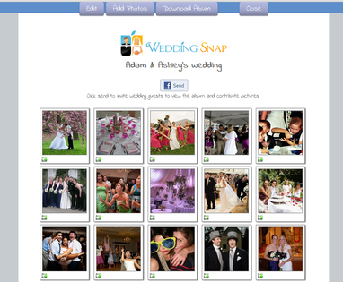 Wedding Snap Wedding Apps Photo Sharing Album